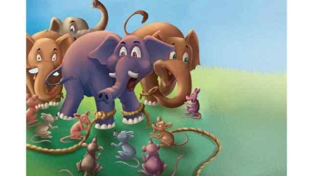 हाथी और चूहे Moral Story in Hindi