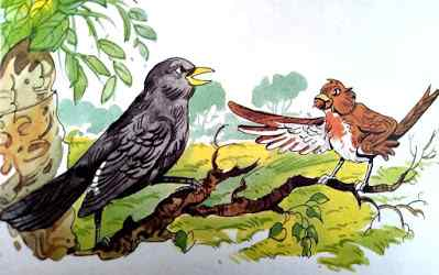 कोयल और चिड़िया Top 10 Moral Stories in Hindi with Birds