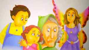 बच्चे, परी और चुड़ैल moral stories in Hindi with pictures
