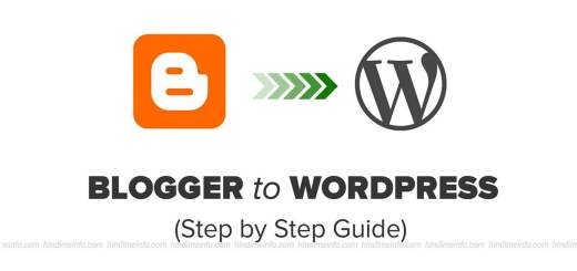 Blogger Se Wordpress