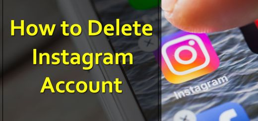 Instagram Account kaise delete