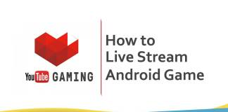 Android game ko youtube par live
