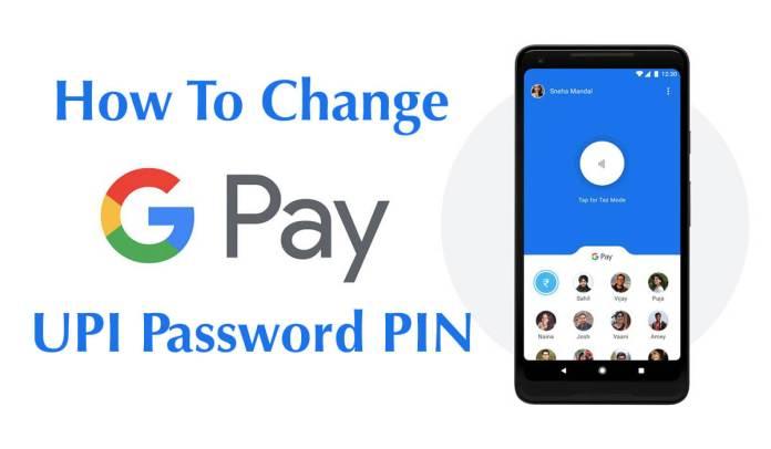 change UPI PIN in hindi