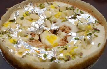 घेवर रेसिपी Ghevar Recipe