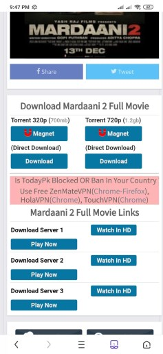 latest movies download for mobile
