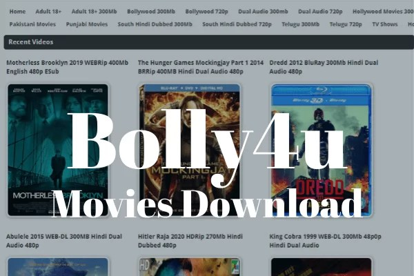 Bolly4u Bollywood Hindi Movies Download