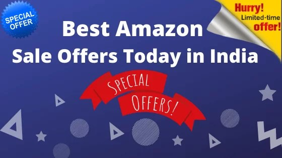 Best Amazon Sale Offers Today in India, Amazon Today Offer