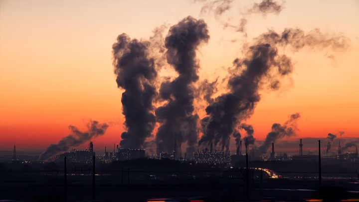 About air pollution in hindi
