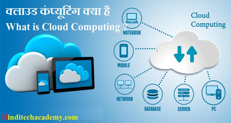 क्लाउड कंप्यूटिंग क्या है -What is Cloud Computing in hindi