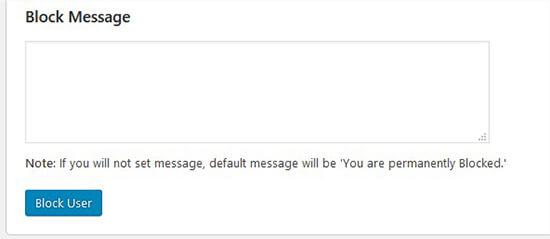 Account को Delete किये बिना किसी WordPress User को कैसे ब्लॉक करें?