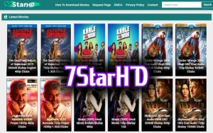 7StarHD 2020 : 300MB Dual Audio Download Bollywood Hollywood Movies Free