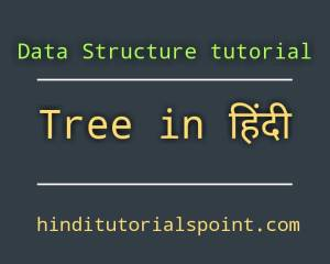 Tree in Data Structure in Hindi, Basic terminology in Hindi, Static representation of tree in Hindi, Dynamic representation of tree in Hindi, Types of Tree in Hindi, General Tree in Hindi, Forests in Hindi, Binary Tree in Hindi, Binary Search Tree in Hindi, Expression Tree in Hindi,tree in data structure in hindi pdf, operation on binary tree in data structure in hindi, tournament tree in data structure in hindi, basic terminology of tree in data structure in hindi, tree terminology in data structure in hindi, weight balanced tree in data structure in hindi,