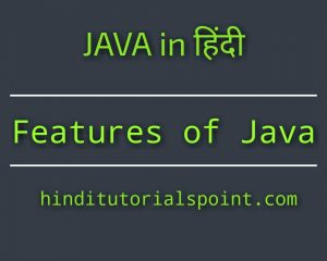 features of java in hindi