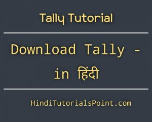 How to Download Tally ERP 9 Software in hindi