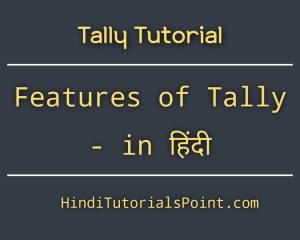 tally features in hindi