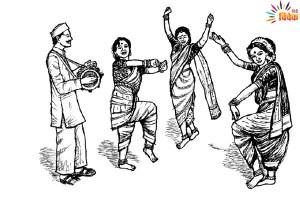 Read more about the article महाराष्ट्र का विनोदी लोकनाट्य : तमाशा