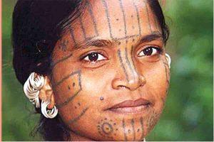पूर्वोत्तर के पारंपरिक टैटू