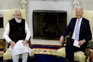 Read more about the article प्रधानमंत्री मोदी की अमेरिकी राष्ट्रपति जो बिडेन एवं उपराष्ट्रपति कमला हैरिस से मुलाकात   भारत  अमेरिकी संबंधों की नियति की झलक