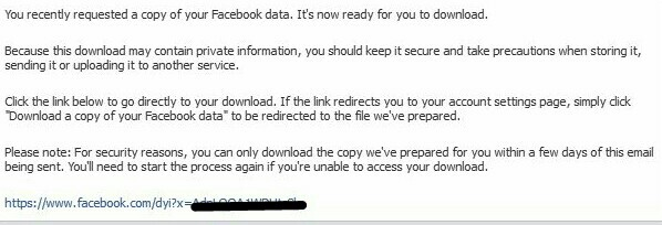 facebook deleted message recover