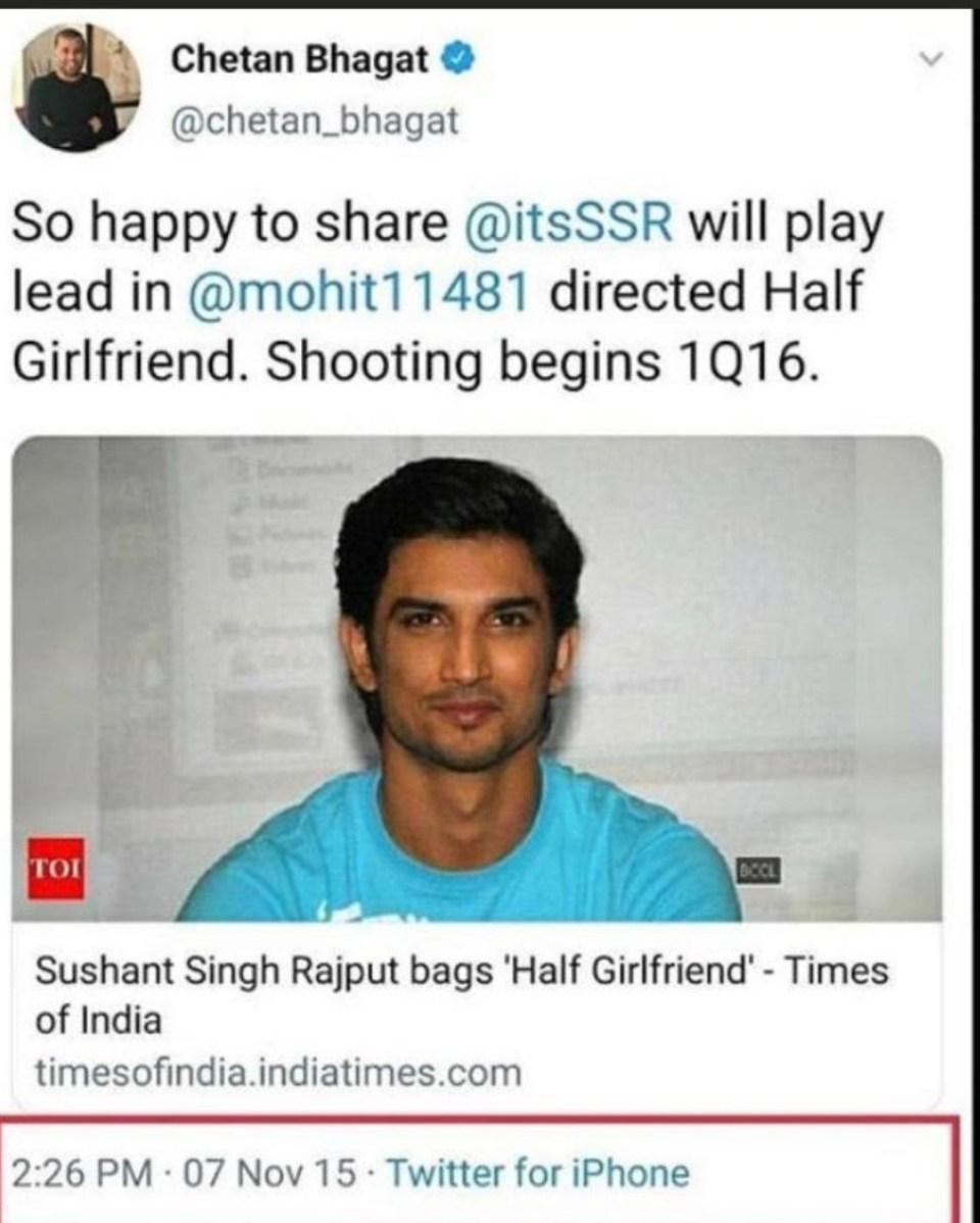 डायरेक्टर मोहित सूरी ने बताया क्यों उन्होंने घोषणा करने के बाद भी सुशांत सिंह राजपूत को किया था फिल्म हाफ गर्लफ्रेंड से बाहर
