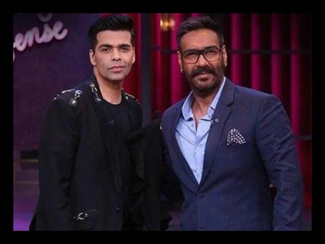 """""""धौंसिये को औकात बता दी"""", अजय देवगन ने करण जौहर की दादागिरी उतार माफी मांगने पर कर दिया मजबूर"""