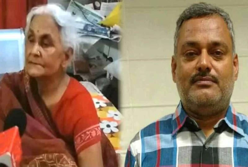 कानपुर एनकाउंटर : शातिर अपराधी विकास की माँ ने कहा उसे अब मर जाना चाहिए, मुझे कोई गम नहीं होगा