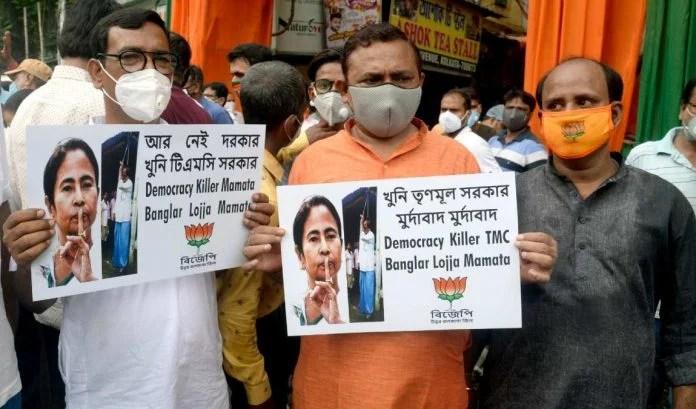 फंदे से लटकता मिला भाजपा नेता का शव, ममता बनर्जी पर लगाया गया आरोप