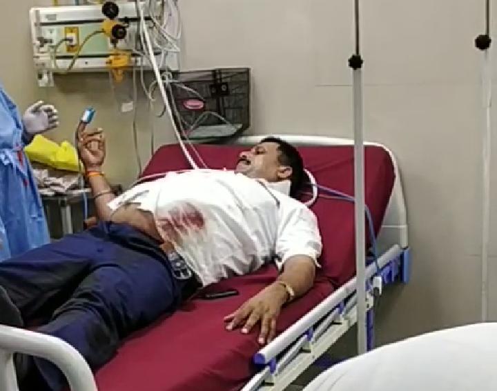 सुरेंद्र कालिया ने जेल में बंद बाहुबली धनंजय सिंह पर लगाया हमले का आरोप, रेलवे ठेके पर था बवाल