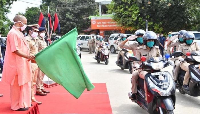 गोरखपुर मे दहाड़ेगा अब &Quot;शेरनी दस्ता&Quot; बेटियों को मिलेगी सुरक्षा