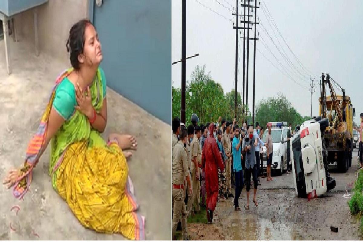 बिकरू कांड: सुषमा बोली 'विकास ने नहीं एसओ विनय तिवारी ने सबको मरवा डाला'