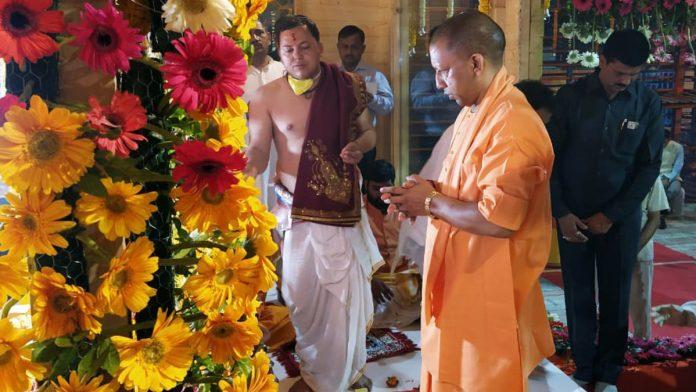 राम मंदिर के भूमि पुजन का काउंटडाउन शुरू, अयोध्या पहुंचे योगी आदित्यनाथ ने लिया कार्यक्रम का जायजा