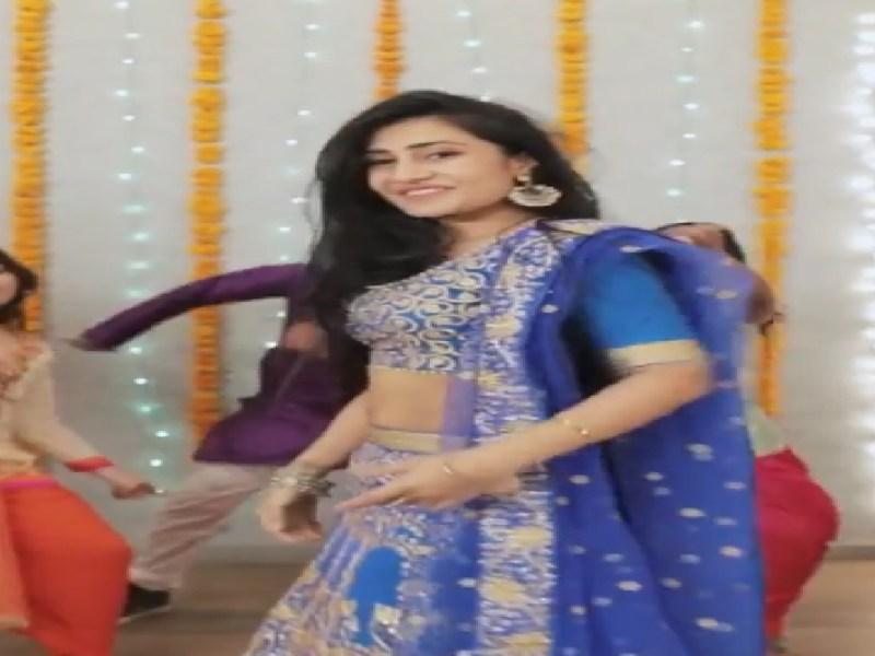 युजवेंद्र चहल की होने वाली वाइफ का डांस वीडियो Viral,'लहंगा' गाने पर थिरकते हुई आई नजर