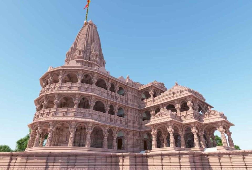 बनने के बाद इतना भव्य होगा राम मंदिर, देंखे मनमोहक तस्वीरें