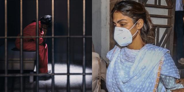 भायखला जेल में रिया चक्रवर्ती का हुआ बुरा हाल, ऐसे कट रही है रातें