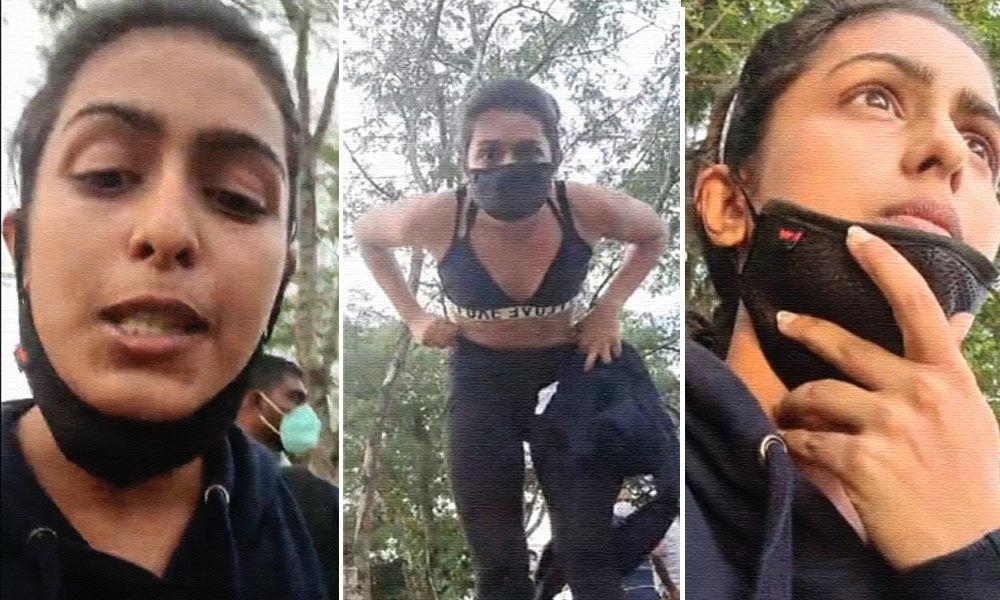 एक्ट्रेस का आरोप, स्पोर्ट्स ब्रा पहनने की वजह से की गई गाली-गलौज, मारपीट