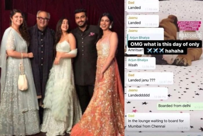 दीपिका, बच्चन और कपूर के फैमली Whatsapp ग्रुप में होती हैं ऐसी बातें, देखें