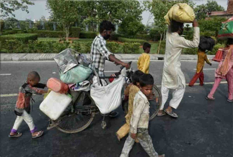 लॉकडाउन के समय 1 करोड़ से ज्यादा लोग लौटे घर : भारत सरकार