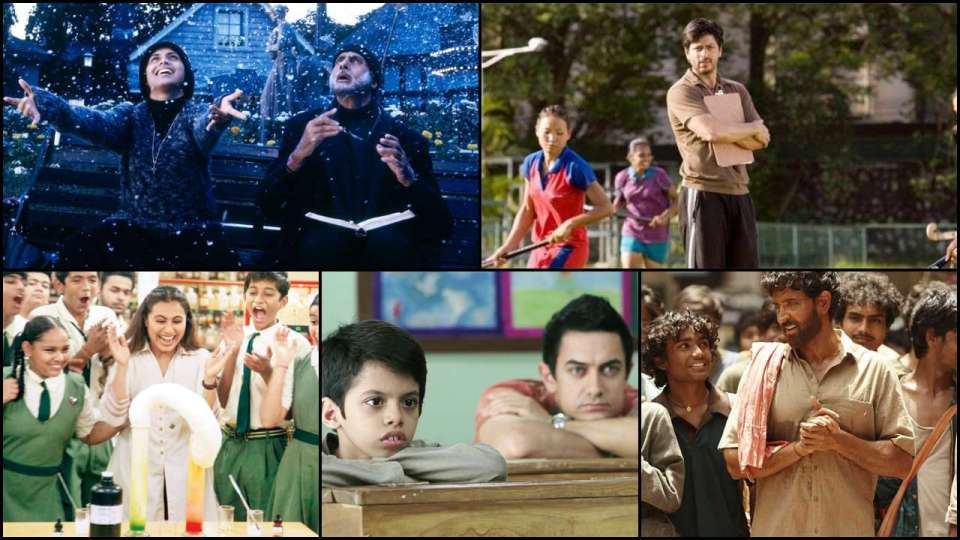 टीचर्स डे: बॉलीवुड के सुपरस्टार जिन्होंने बड़े पर्दे पर निभाया है टीचर का रोल