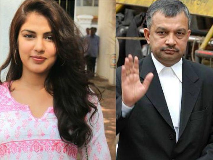 रिया के वकील सतीश मानशिंदे ने बताया कैसे भर रही हैं फ़ीस