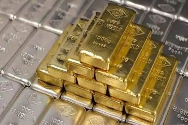 Gold Price: 389 रूपये सस्ता हुआ सोना और 466 रूपये चांदी, जाने 10 ग्राम का भाव