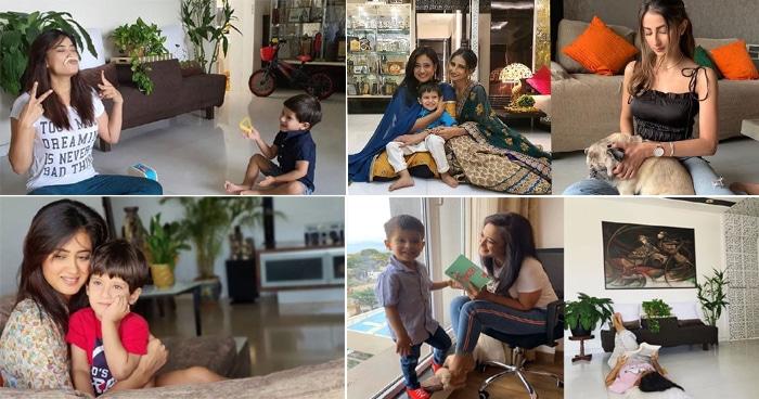 दोनों पति को छोड़कर बच्चों के साथ इस शानदार घर में रहती हैं श्वेता तिवारी, देखें इनसाइड तस्वीरें