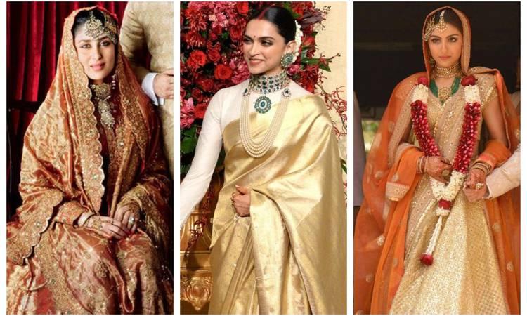 अपनी शादी में इन अभिनेत्रियों ने पहने थे माँ और सास के पुश्तैनी लहंगे-गहने, देखें तस्वीरें