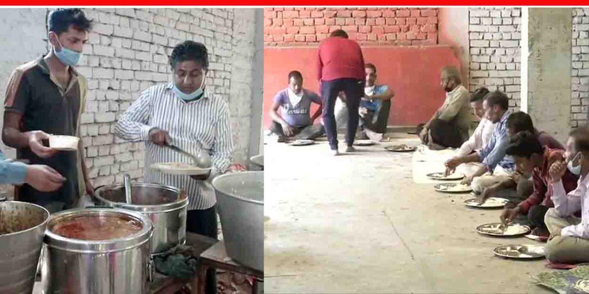 1 रूपये में दिल्ली में रोज 11 से 1 बजे के बीच लगती है जरुरतमंदो का पेट भरने की श्याम रसोई