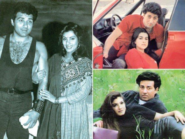 सनी देओल इन अभिनेत्रियों के साथ बना चुके हैं सम्बंध, एक है सुपरस्टार की पत्नी