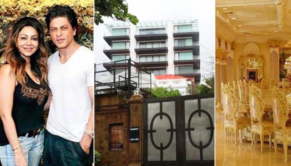 किसी राजमहल से कम नहीं है शाहरुख खान का 'मन्नत' देखें बंगले की इनसाइड तस्वीरें