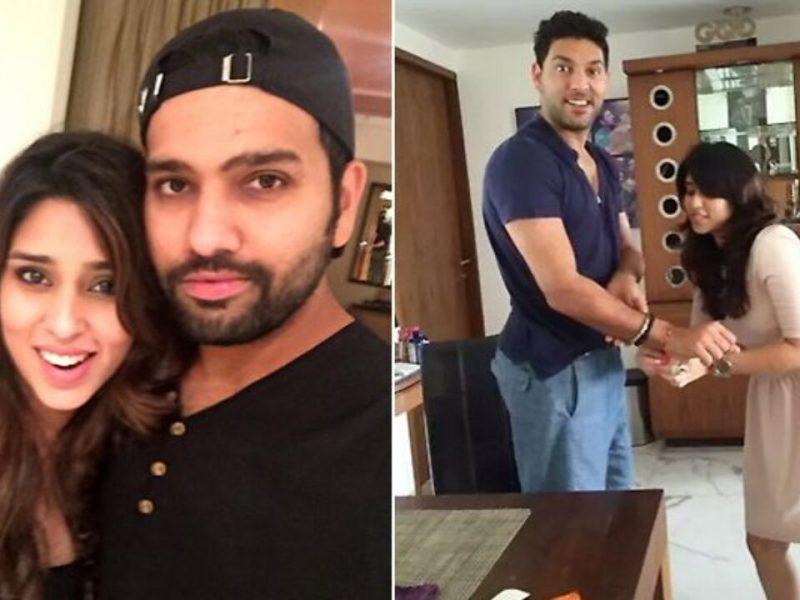 युवराज सिंह ने रोहित शर्मा को दी थी धमकी , 'मेरी बहन से दूर रहना'