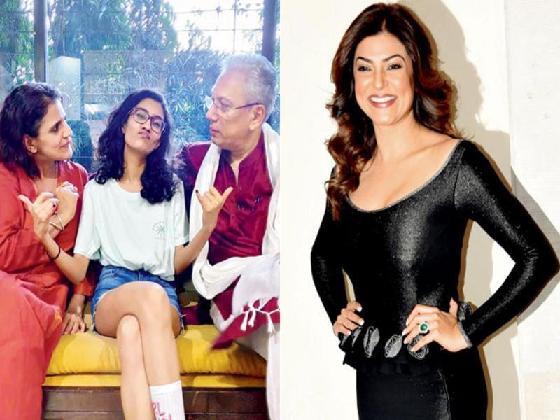इस फिल्म से बॉलीवुड में एंट्री लेने जा रही सुष्मिता सेन की बेटी, देखें शूटिंग की तस्वीरें