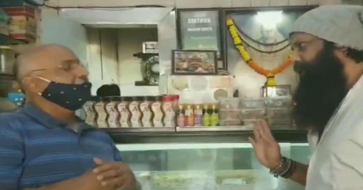 नया मुद्दा: शिवसेना नेता ने डाला 'कराची स्वीट्स' का नाम बदलने का दबाव, वीडियो हुआ वायरल