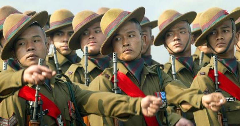 चार दिवसीय दौरे पर नेपाल पहुंचे सेनाप्रमुख नरवणे की पत्नी ने गोरखा सैनिकों की पत्नियों को सौंपे उपहार