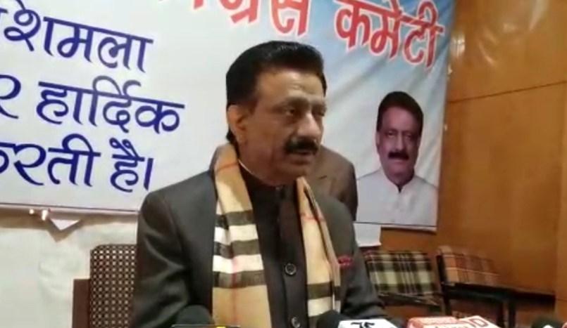 सोनिया गांधी की शिलान्यास पट्टिका लगाने में विलम्ब किया तो, सरकार के खिलाफ बड़ा आंदोलन- कुलदीप सिंह राठौर